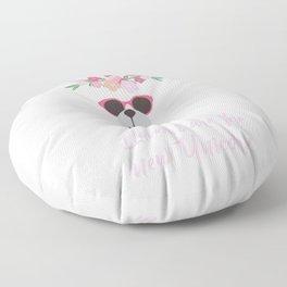 Llamas Are The New Unicorn Gift For Alpaca Lover Floor Pillow