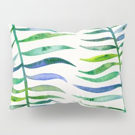 Palm Leaf – Green Palette Pillow Sham