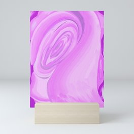 Pinks in motion...rosebud Mini Art Print
