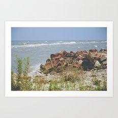 Summer by the Sea Art Print