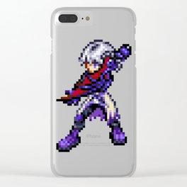Dark Riku Sprite Clear iPhone Case