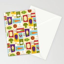 Farm to Table_pattern Stationery Cards
