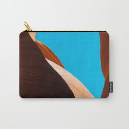 Curves of the Valley Carry-All Pouch