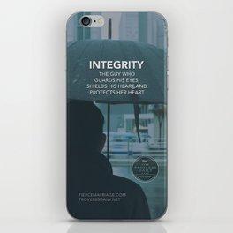 INTEGRITY (General) iPhone Skin