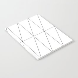 Inverted Triangles by Friztin Notebook
