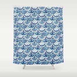 KOOK ARMOR Scallop Shower Curtain