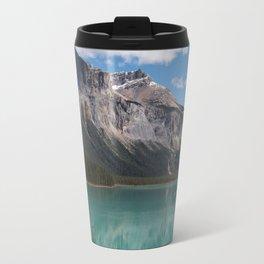 Emerald Lake view Travel Mug