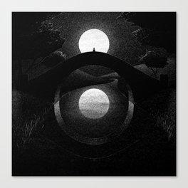 Drawlloween 2014: Eye Canvas Print
