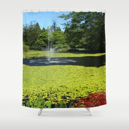 Van Dusen Botanical Garden Shower Curtain