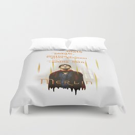 Merlin: Myth and Magic Duvet Cover