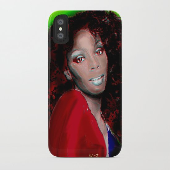 Donna Summer iPhone Case