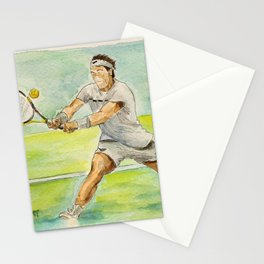 Rafael Nadal Pro Tennis Player Stationery Cards