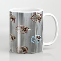 industrial Mugs featuring Industrial by Avigur