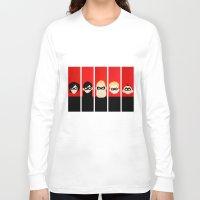 helen Long Sleeve T-shirts featuring Incredibles Series Helen by iankingart