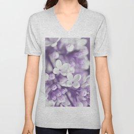 Lilac 167 Unisex V-Neck
