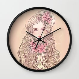 Arika *GirlsCollection* Wall Clock