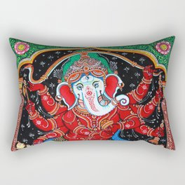 Hindu Ganesha 4 Rectangular Pillow