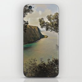 Waipio Valley Coastline iPhone Skin