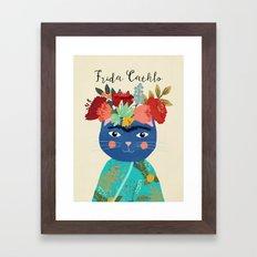 Frida Cathlo Framed Art Print