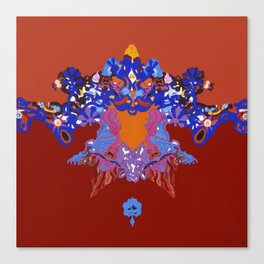 Toon Rorschach I Canvas Print