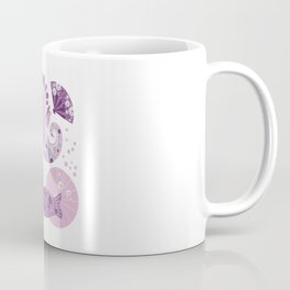Unicorn dragon. Violet dreams Coffee Mug