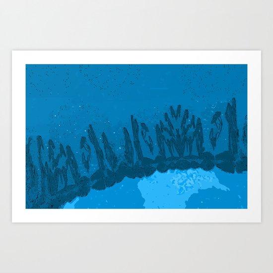 Rare Earth - Sky Art Print