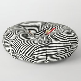 Illusionary Boat Ride Floor Pillow
