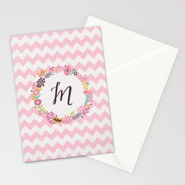 M for Madison!  Stationery Cards