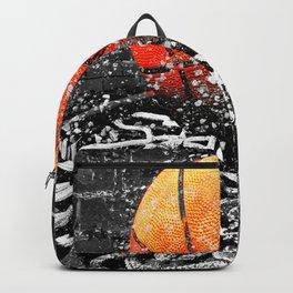 Basketball art swoosh 103 Backpack