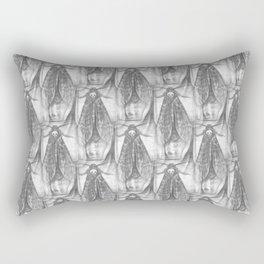 Freya and Faye, the moth collectors Rectangular Pillow