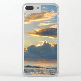 Sun and Rain Clear iPhone Case