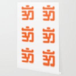Aum Orange Wallpaper