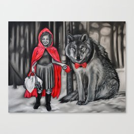 Red's Pet Wold Canvas Print