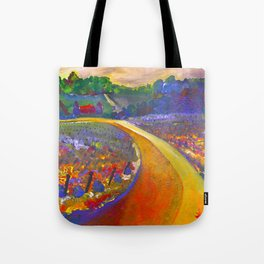 The Road to Chateau Chantal Tote Bag