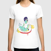 spaceship T-shirts featuring Spaceship by Eugenia Perez