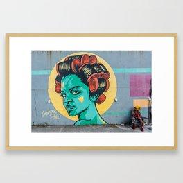 AFH 2018 Street Art 2 Framed Art Print