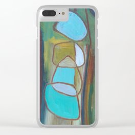 Circled by You Clear iPhone Case
