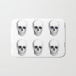 Skull by Carla Marroquín Bath Mat