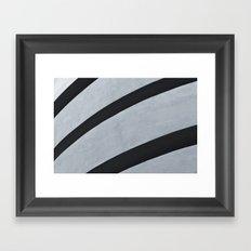 Guggenheim Abstract Framed Art Print