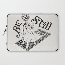 Be Still French Bulldog Laptop Sleeve
