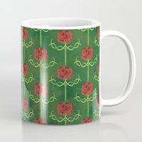 Spring Roses Pattern Mug