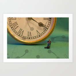 Big Time Busker Art Print