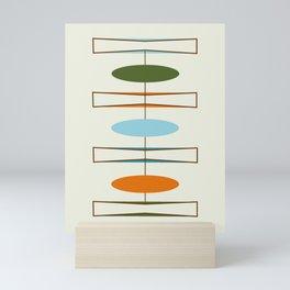 Mid-Century Modern Art 1.2 Mini Art Print