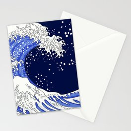 Great Blue Wave Stationery Cards