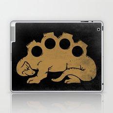 Brassknuckleosaurus Laptop & iPad Skin