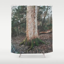 Glasgow Tree Shower Curtain