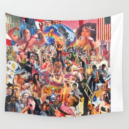 Broken Penis Orchestra - Fuck Rockin in American Airspace (F RIAA) Wall Tapestry