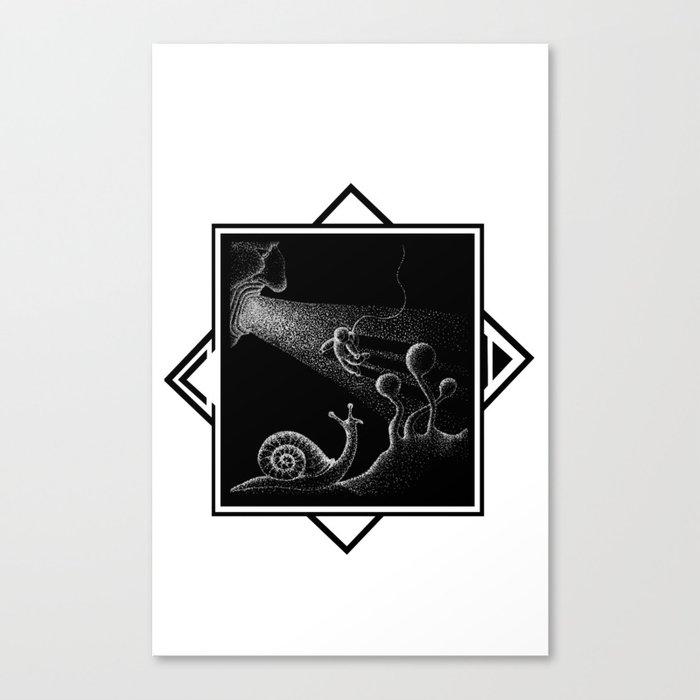COSMONAUTA Canvas Print