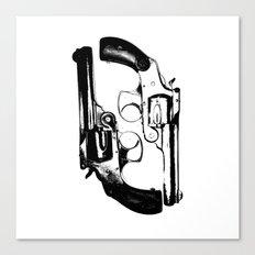 Violent Canvas Print