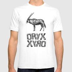 Oryx MEDIUM White Mens Fitted Tee